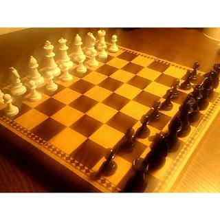 チェス盤 折りたたみ式(オセロ/チェス)