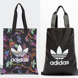 アディダス(adidas)の【新品・即発送OK】adidas オリジナルス ショッパー トート 花柄/黒(トートバッグ)