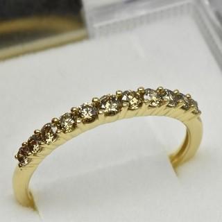 専用です K18 ゴールド エタニティ ダイヤリング 0.40ct 14号  (リング(指輪))