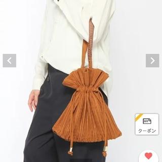レプシィム(LEPSIM)の1000円SALE.+*:゚+。.☆レプシム プリーツ巾着バック ブラック(ハンドバッグ)