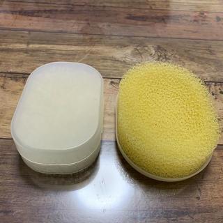 ムジルシリョウヒン(MUJI (無印良品))の無印 石鹸ケース 石鹸置き セット(バスグッズ)
