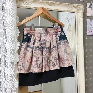 ジュジュエッタ(JugeETTA)のヴィンテージ ペプラムスカート(ミニスカート)