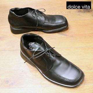 ドルチェビータ(Dolce Vita)の【値引】美品!【DOLCE VITA】日本製チャッカブーツ 送料込(ブーツ)