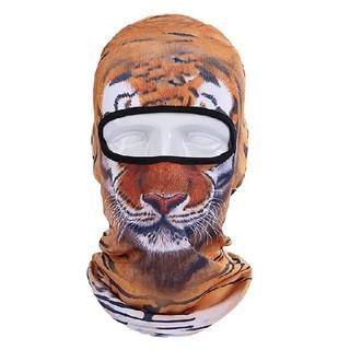 虎 動物フェイスマスク スノボスキー 防寒 安い かっこいい(ウエア/装備)