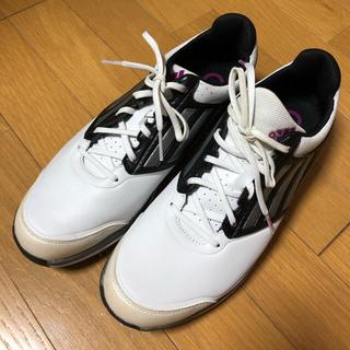 アディダス(adidas)のゴルフシューズ ゴルフ シューズ adidas アディダス 白 靴 26.5cm(シューズ)