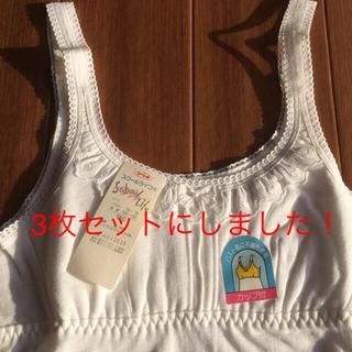 アツギ(Atsugi)の女の子肌着、150   3枚セット(下着)