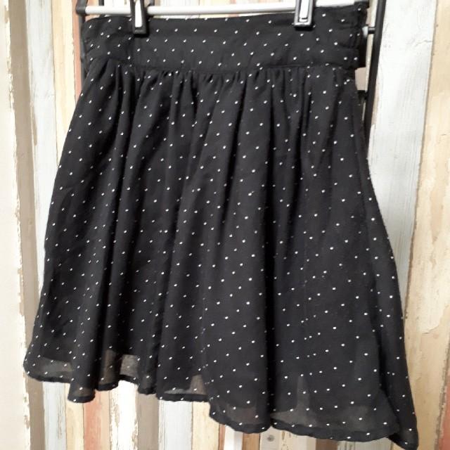 LOWRYS FARM(ローリーズファーム)のドット柄💓シフォンスカート レディースのスカート(ミニスカート)の商品写真