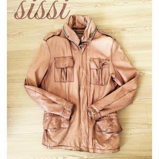 シシロッシ(Sissi Rossi)のsissi シッシ レザージャケット Sサイズ(ライダースジャケット)