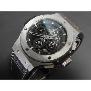 ウブロ(HUBLOT)の美品 2017年OH済み ウブロ アエロバン 44mm ビッグバン(腕時計(アナログ))