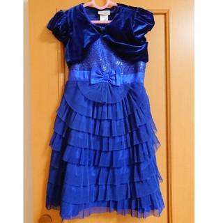 a431f78f6b577 コストコ(コストコ)の女の子用 ボレロ付きフォーマルドレス(ドレス フォーマル)