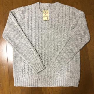 ムジルシリョウヒン(MUJI (無印良品))の無印 アラン柄セーター(ニット/セーター)