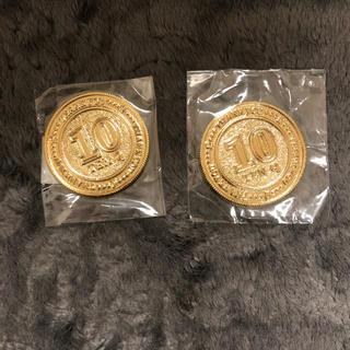 キューポット(Q-pot.)のQ-pot. キューポット・ノベルティコイン・2枚セット・非売品(その他)
