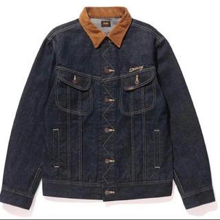 ステューシー(STUSSY)のstussy × lee denim jacket jeans corduroy(Gジャン/デニムジャケット)
