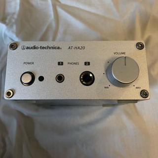 オーディオテクニカ(audio-technica)のyohさん専用 オーディオテクニカ ヘッドホンアンプ AT-HA20(アンプ)