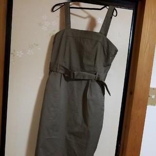 ハニーズ(HONEYS)の【値下げ】ジャンパースカート(ひざ丈ワンピース)