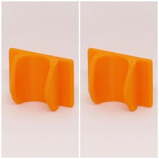 【セットでお得】メルシーポット  留め具&シール オレンジ 二個(鼻水とり)