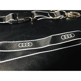 アウディ(AUDI)の【美品】Audi アウディ ネックストラップ(車外アクセサリ)