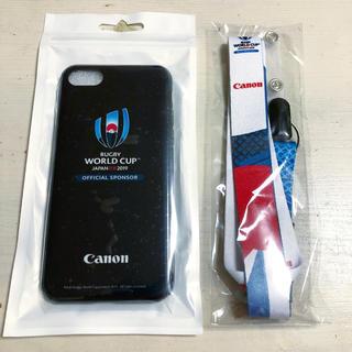 キヤノン(Canon)のラグビーワールドカップ2019 / iPhoneケースとネックストラップ(ラグビー)