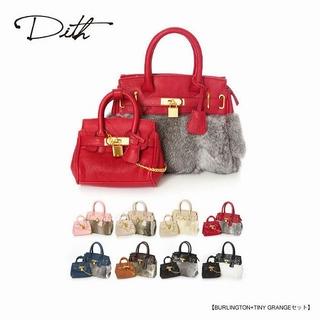 ディス(Dith)の♡Dithのクロコ型押しバーキン風Bag♡(ハンドバッグ)