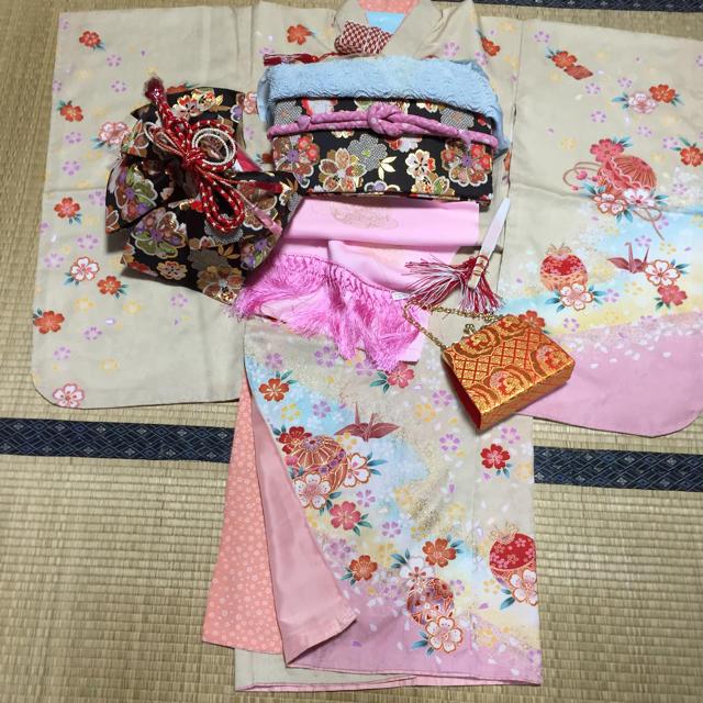 SOLD OUT キッズ/ベビー/マタニティのキッズ服 女の子用(90cm~)(和服/着物)の商品写真
