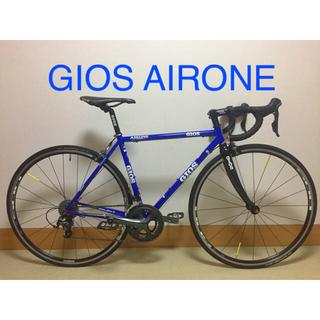 ジオス(GIOS)のGIOS AIRONE 走行少 美品(自転車本体)