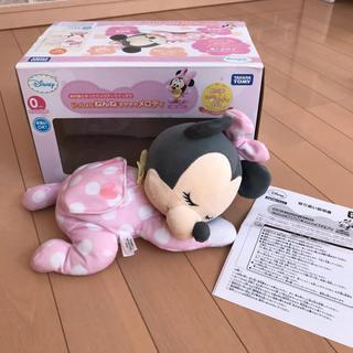 ディズニー(Disney)のディズニー いっしょにねんね すやすやメロディー ミニーちゃん(オルゴールメリー/モービル)