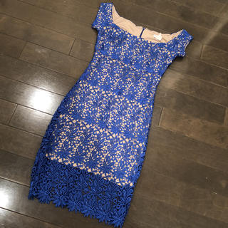 デイジーストア(dazzy store)のぺすかとーれ様専用レースドレス S インポートドレス(ミディアムドレス)