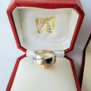カルティエ(Cartier)のパリリング カルティエ Cartier 10号 K18WG ホワイトゴールド(リング(指輪))