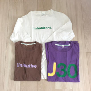 inhabitant Tシャツ3枚