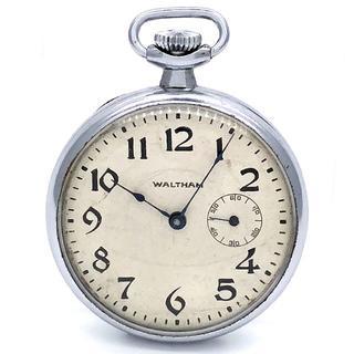 ウォルサム(Waltham)のウォルサム スモールセコンド ポケットウォッチ 懐中時計(腕時計(アナログ))
