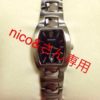 オリエント(ORIENT)のorientの腕時計 ※電池入り(腕時計)
