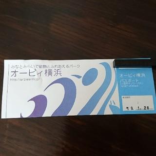 【mina様専用】オービィ横浜 パスポートチケット  1枚(遊園地/テーマパーク)