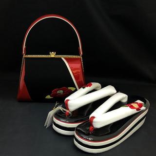 ハイヒール 草履バッグ セット(新品) #00A(下駄/草履)