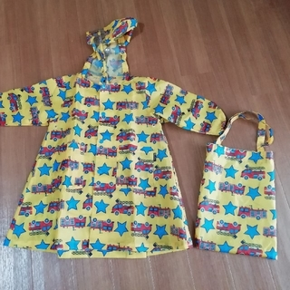 KIDS FORET - Kids Foret レインコート S 消防車