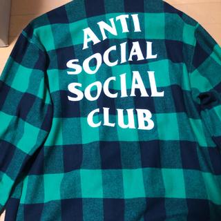 アンチ(ANTI)のanti social social club フランネル(シャツ)
