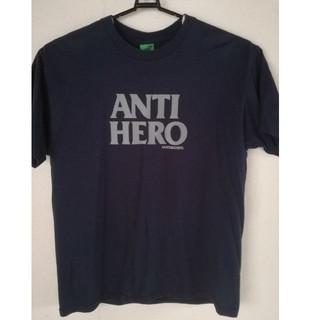 アンチヒーロー(ANTIHERO)のアンチヒーロー ANTI  HERO  スケーター パンク ヒップホップ 紺(Tシャツ/カットソー(半袖/袖なし))