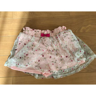 シマムラ(しまむら)の女の子 ヒラヒラ スカート 100センチ(スカート)