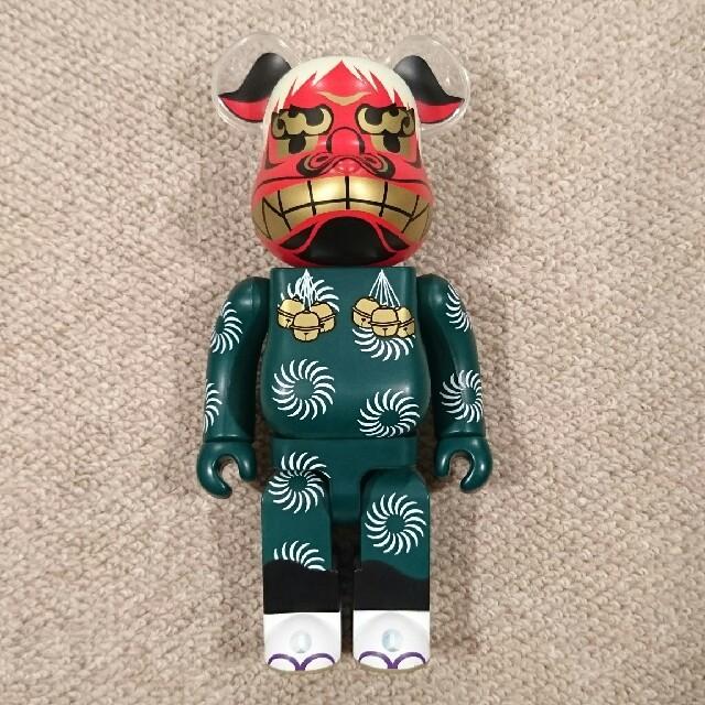 MEDICOM TOY(メディコムトイ)のベアブリック 400% 獅子舞ベアブリック エンタメ/ホビーのフィギュア(その他)の商品写真