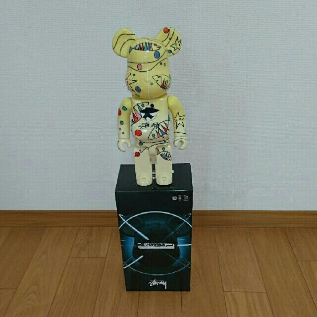 MEDICOM TOY(メディコムトイ)のベアブリック 400% STUSSY エンタメ/ホビーのフィギュア(その他)の商品写真