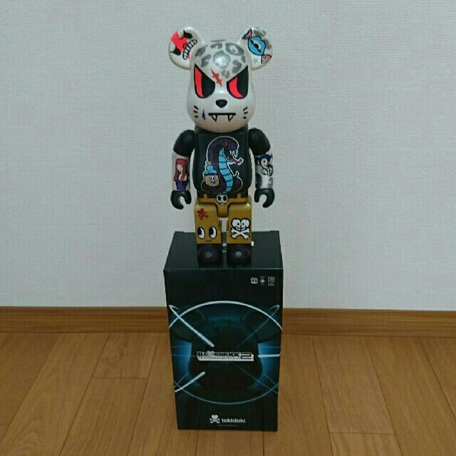 MEDICOM TOY(メディコムトイ)のベアブリック 400% tokidoki エンタメ/ホビーのフィギュア(その他)の商品写真