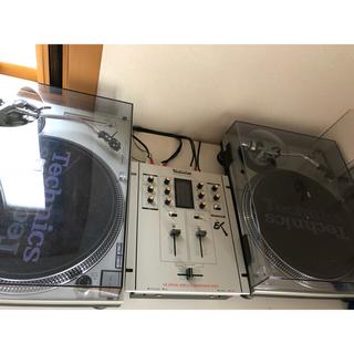 テクノス(TECHNOS)のターンテーブル2台 ミキサー1台(ターンテーブル)