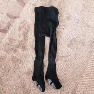 シマムラ(しまむら)のベビータイツ 黒(靴下/タイツ)