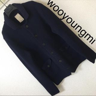 ウーヨンミ(WOO YOUNG MI)の◆良品◆wooyoungmi ウーヨンミ◆カーディガン ジャケット ニット M(カーディガン)
