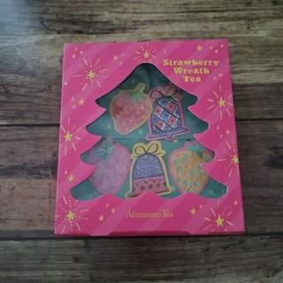 アフタヌーンティー(AfternoonTea)のアフタヌーンティー ストロベリーリースティー クリスマスボックス(茶)