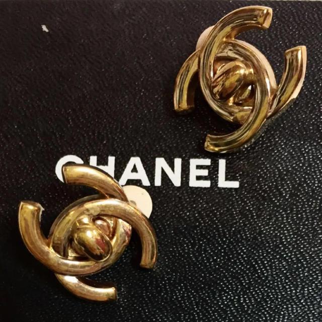 36a40177c132 CHANEL(シャネル)のシャネル ターンロック イヤリング ココマーク レディースのアクセサリー(イヤリング