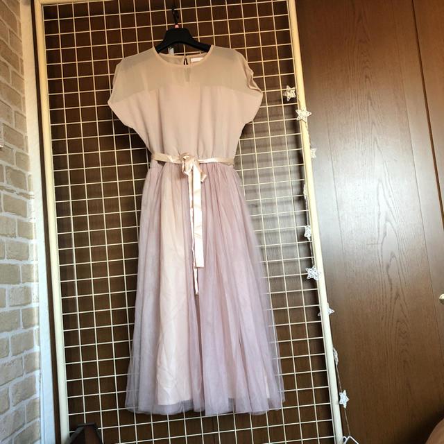 merlot(メルロー)の本日削除します レディースのフォーマル/ドレス(ミディアムドレス)の商品写真