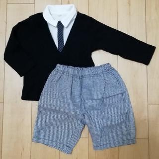 ニシマツヤ(西松屋)の西松屋 80cm フォーマル服(セレモニードレス/スーツ)