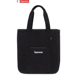 シュプリーム(Supreme)のSupreme Polartec Tote black 黒 Bag 18FW(トートバッグ)