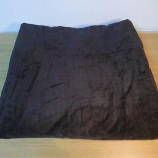 ムジルシリョウヒン(MUJI (無印良品))の未使用  日本製 無印良品 綿シール織毛布 ダブルサイズ ブラウン(毛布)
