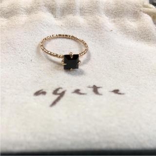 アガット(agete)のagateピンキーリング(リング(指輪))